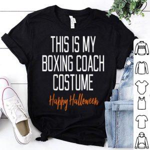 Funny Boxing Coach Costume Halloween shirt