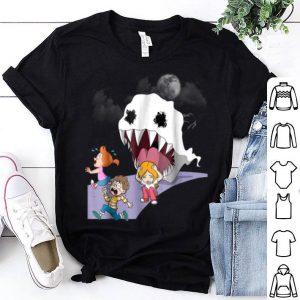 Funny Kids See Ghost Halloween Birthday Women Son Daughter shirt