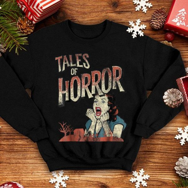 Funny Vintage Horror Movie Poster Funny Halloween shirt