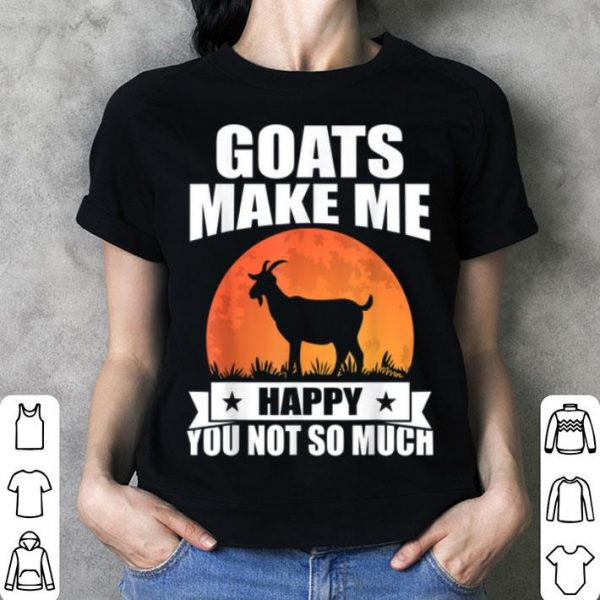 Goat Lovers Funny Halloween Party Costume shirt