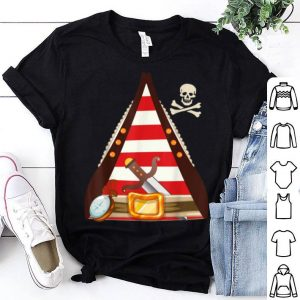 Halloween Pirate Buccaneer Costume Man Woman Kids shirt