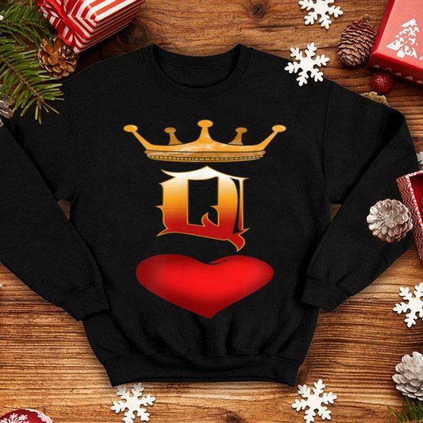 Halloween Queen Of Hearts Symbols Fun shirt