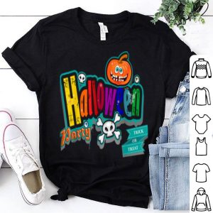 Hot Happy Halloween Scary Retro Witch & Ghosts Costume Gift T-s shirt