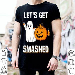 Let's Get Smashed Drinking Pumpkin Halloween shirt
