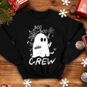 Nice Halloween Costume Boo Boo Crew Hairstylist Tools Ghost Gift shirt