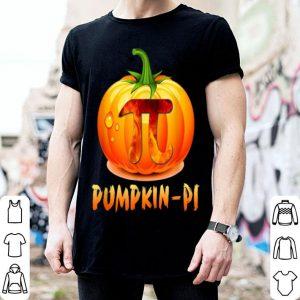 Nice Happy Halloween Teacher Pumpkin Pi Funny Teacher shirt