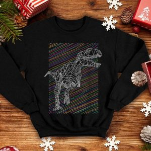 Official Glow Funny T-Rex in the Dark Dinosaur T-Rex shirt
