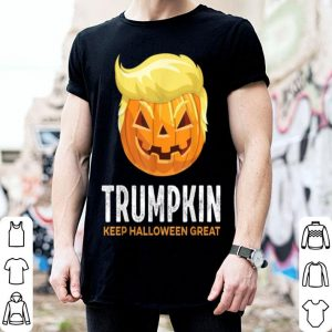 Official Trumpkin Keep Halloween Great 2020 Trump Halloween shirt