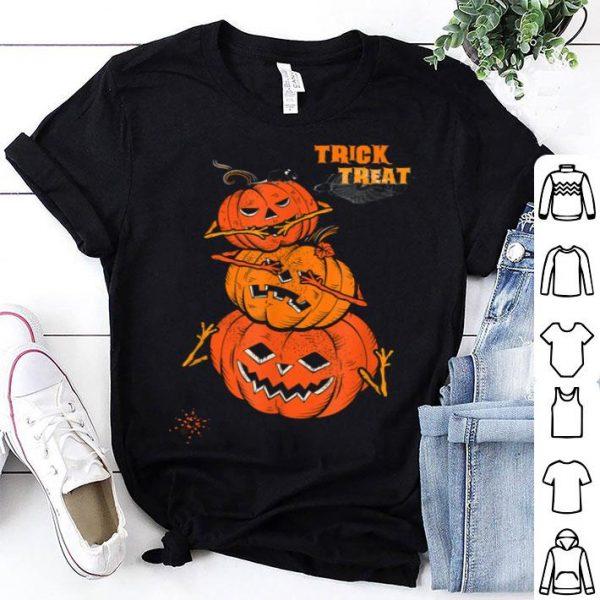 Original Trick Or Treat Pumpkin Halloween shirt