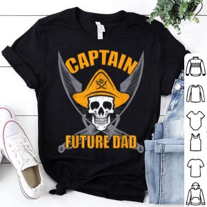 Pirate Captain Future Dad Funny Halloween Party Costume Gift shirt