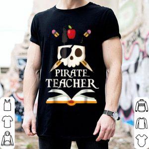 Pirate Teacher For Halloween Costume shirt