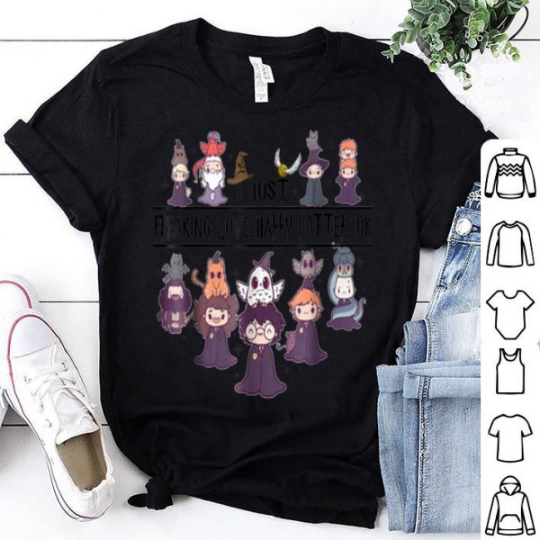 Premium I Just Freaking Love Harry Magical Wizard Potter shirt