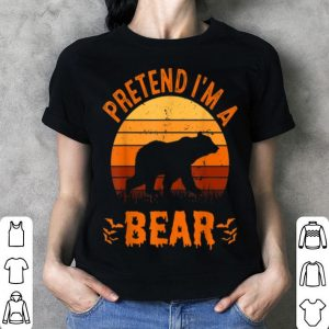 Pretend I'm A Bear Funny Halloween Costume shirt