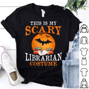 This Is My Scary Librarian Costume Halloween Party shirt