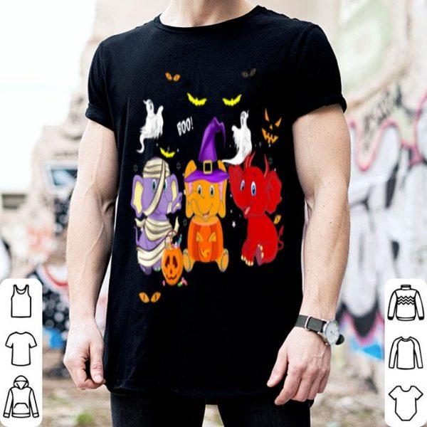 Top Elephant Happy Halloween - Halloween Gift shirt
