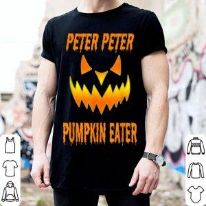 Top Mens Peter Peter Pumpkin Eater Halloween Couples Costume shirt