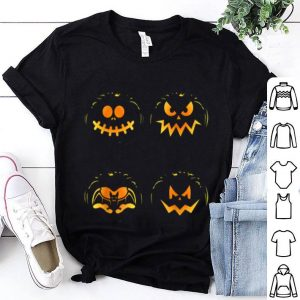 Vintage Pumpkin Funny Pumpkin Halloween Party Costume shirt