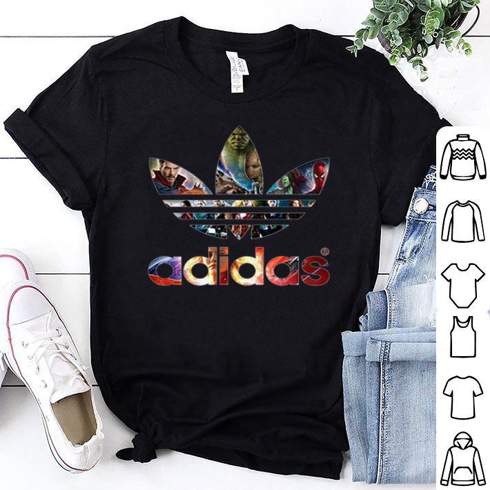 adidas t shirt marvel