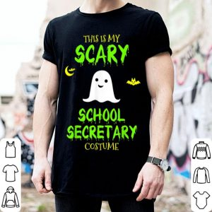 Awesome Scary School Secretary Costume Halloween shirt