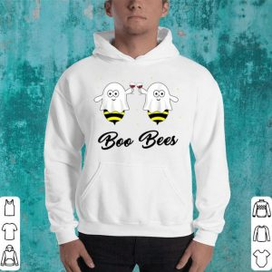Awesome Wine Boo Bees Couples Halloween, Matching Couple Tee shirt