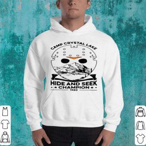 Beautiful Camp Hide And Seek Champion Crystal Lake 1980 Halloween shirt