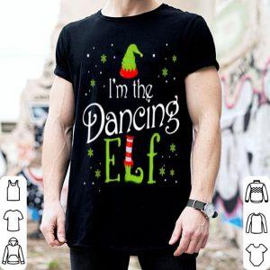 Beautiful I'm The Dancing Elf Funny Group Matching Family Xmas Gift shirt