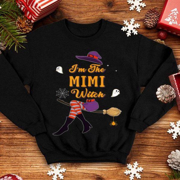 Beautiful I'm The Mimi Witch Halloween Group Costume shirt