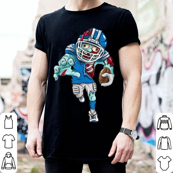 Funny Funny American Football Zombie Halloween Gift Running Back shirt