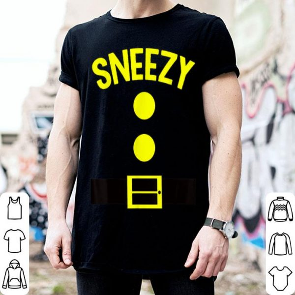 Funny Sneezy Dwarf Halloween Costume Funny Gift Idea Sneezy Dwarf shirt