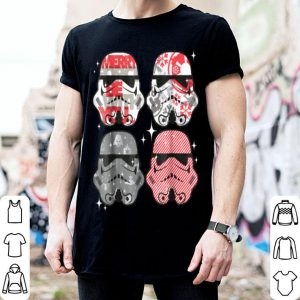 Hot Star Wars Troopers Christmas Colors Candy Storm shirt