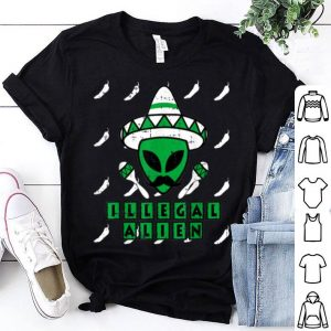 Nice Martian Illegal Alien Mexican Area-51 Funny Halloween Gift shirt