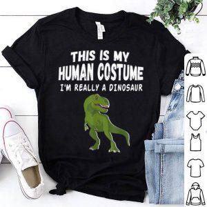 Official Dinosaur T-rex For boys Girls Halloween costume Style shirt