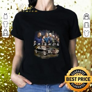 Official Friends Fast And Furious shirt 1