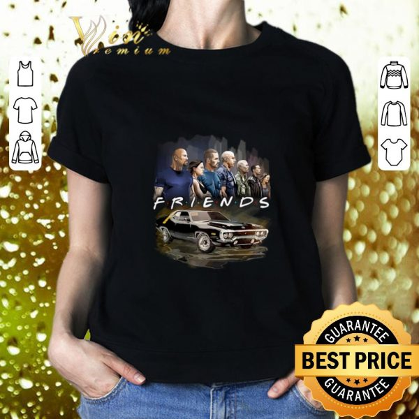 Official Friends Fast And Furious shirt