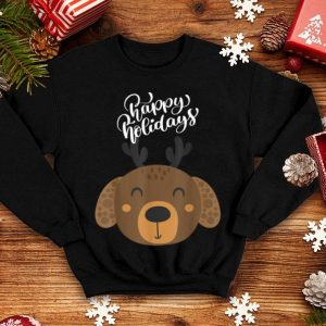 Official Happy Holidays Deer New Year 2020 - Christmas Tee shirt