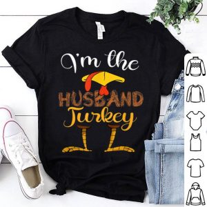 Official Mens I'm the Husband Turkey Family Thanksgiving day lover gift shirt