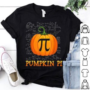 Official Pumpkin Pi Halloween Math Tee Gifts For Kids Teacher shirt