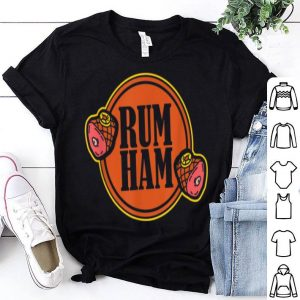Official Rum Ham I injected Meat tradition Grill Party food shirt