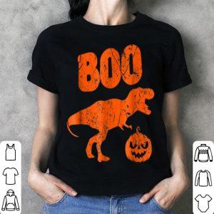 Official T Rex Dinosaur Pumpkin Unique Funny Halloween shirt