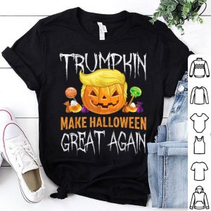 Official Trumpkin Make Halloween Great Again Trump Hair Pumpkin shirt