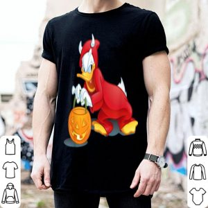 Original Disney Halloween Donald Duck Devil shirt
