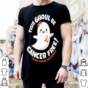 Original Kidney Cancer Free Survivor Halloween Cute Ghost Girl Gift shirt