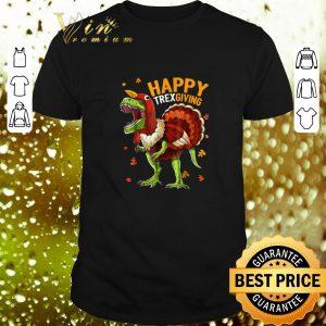 Original T-Rex Happy Trexgiving Thanksgiving shirt