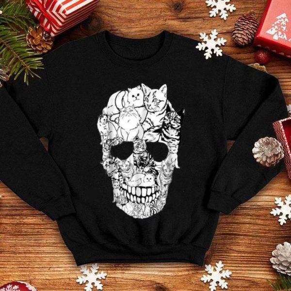 Premium Cat Skull - Kitty Skeleton Halloween Costume Idea shirt