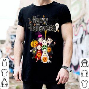Premium Halloween Kids - Happy Halloween Pumpkin shirt