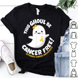 Top Appendix Cancer Free Survivor Halloween Cute Ghost Girl Gift shirt