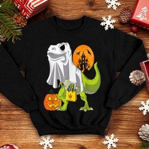 Top Ghost Dinosaur Funny Halloween T Rex For Boys Costume shirt