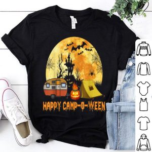 Top Happy Camp-O-Ween Camp Camping Halloween Gifts shirt