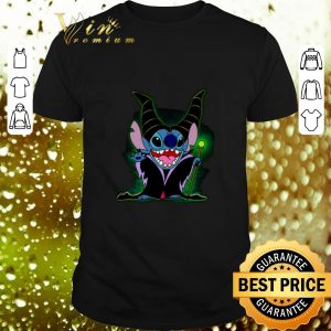 Top Maleficent Stitch witch shirt