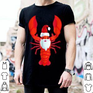Beautiful Christmas Lobster Santa Claws Merry Christmas shirt